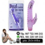 VIBRATOR DUAL STIMULATOR MULTI SPEED 179
